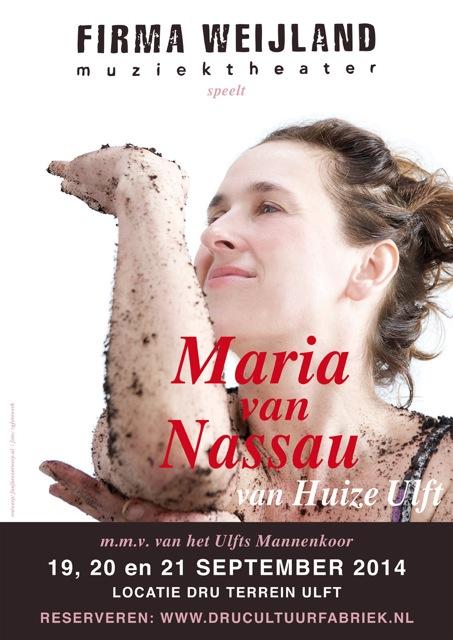 poster Maria van Nassau